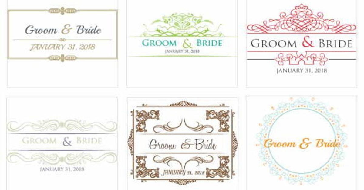 【婚禮Logo】DesignMantic 婚禮Logo設計 | 喜帖樣式