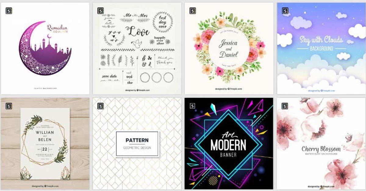 【卡片設計】Freepik 卡片設計 | 卡片封面PSD檔