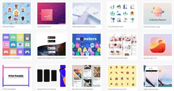 【設計資源】Sketch App Sources 免費設計資源下載