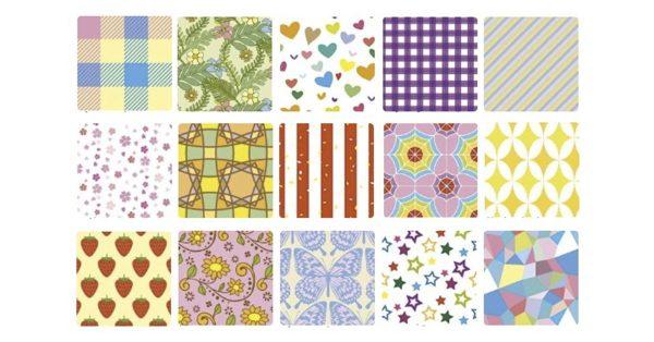 【網頁設計】Pattern-sozai 網頁設計 | 背景底圖素材