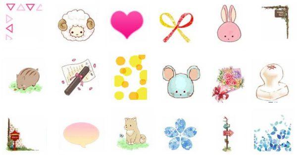 【日本可愛圖案】 PhotoRevo 日本可愛圖案 | 可愛插畫
