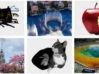 【去背圖】Public Domain Photos 插畫去背圖 | 免費旅行照片