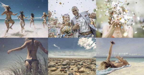 【海邊照片】Stokpic 愉悅的海邊照片 | 難忘的婚禮照片