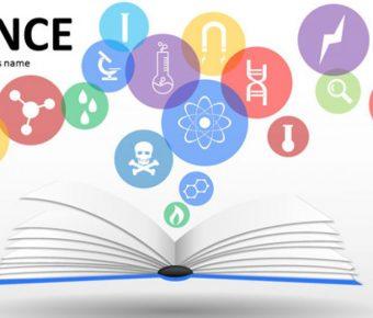 完整的學術分析powerpoint模板下載,共有24張的實驗結果簡報模版推薦