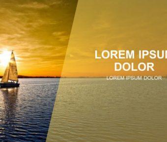 無暇的帆船背景powerpoint模板下載,共有34張的自然風景推薦主題