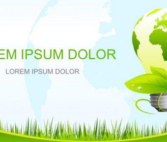 有設計感的綠化宣導powerpoint模板下載,共有28張的環境保護免費推薦