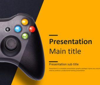 精美的遊戲周邊powerpoint模板下載,共有30張的影視音樂推薦主題