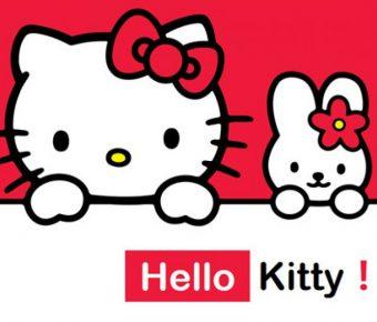 精品的kitty貓powerpoint模板下載,共有7張的卡通模板推薦樣式