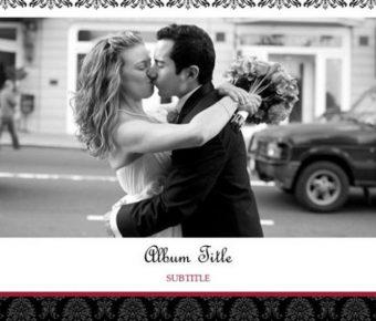 華麗的婚禮相本powerpoint模板下載,共有17張的婚禮愛情最佳推薦