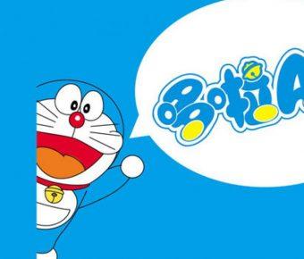 優秀的機器貓powerpoint模板下載,共有17張的哆啦A夢主題簡報免費推薦