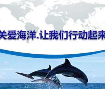 高質感的海洋環境powerpoint模板下載,共有12張的環境保護模版推薦