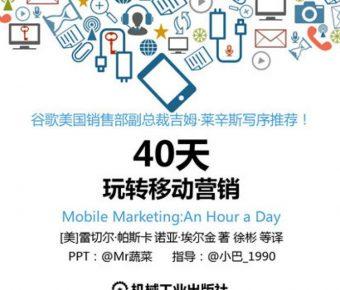 優質的手機行銷powerpoint模板下載,共有19張的客戶銷售簡報推薦模板
