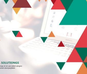 極致的時尚三角powerpoint模板下載,共有20張的活潑色彩範本推薦範例