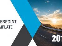 高質量的乾淨排版powerpoint模板下載,共有21張的演講專用範本推薦樣式