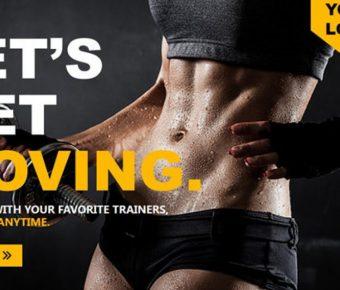 細緻的瘦身主題powerpoint模板下載,共有6張的體育運動推薦樣式