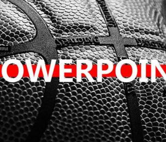 不錯的NBA主題powerpoint模板下載,共有33張的體育運動推薦下載