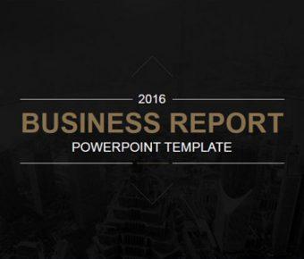 華麗的企業報告powerpoint模板下載,共有23張的商業分析簡報免費下載
