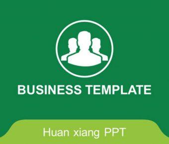 不錯的創業分析powerpoint模板下載,共有23張的商業數據簡報免費推薦