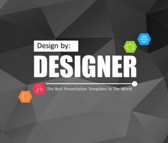 精品的幾何背景powerpoint模板下載,共有20張的藝術抽象模版推薦