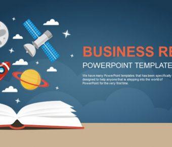 不錯的火箭主題powerpoint模板下載,共有23張的教育教學推薦主題