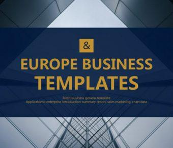 很棒的企業商務powerpoint模板下載,共有28張的商務模板推薦範例